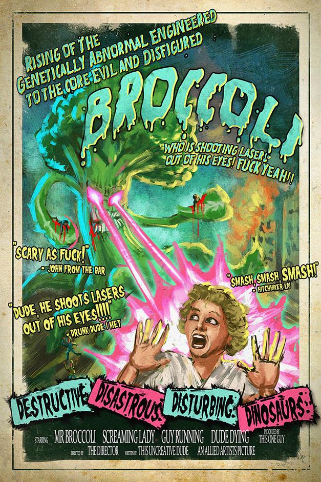 B-MoviePoster Evil Broccoli
