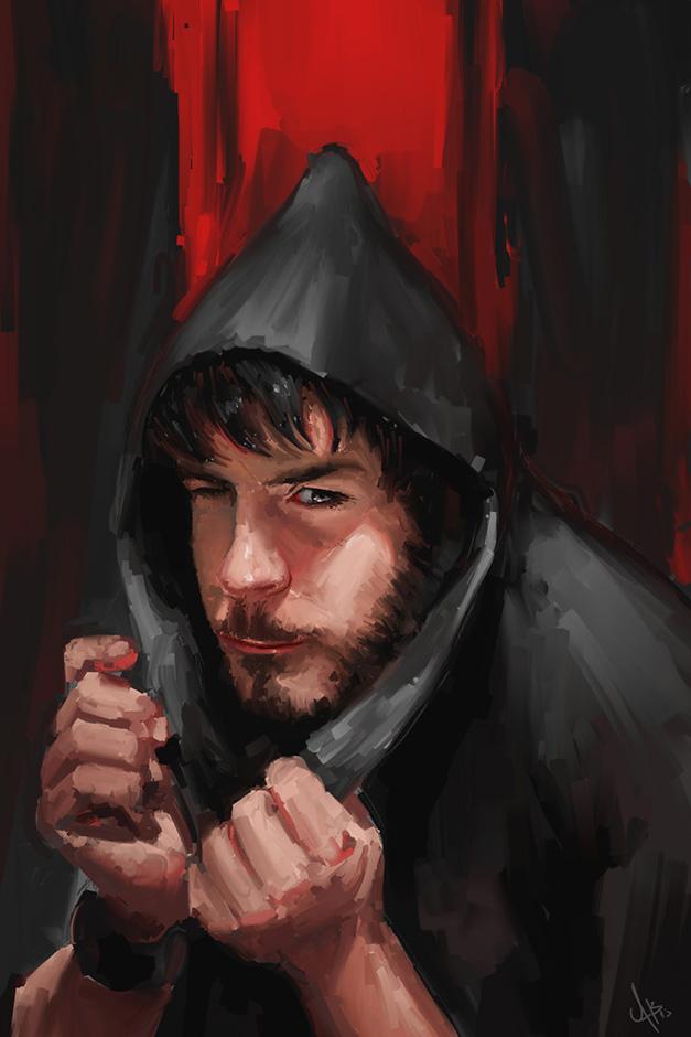 Portrait Red