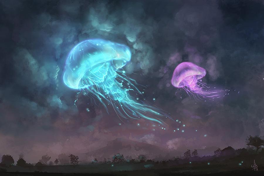 Jelly in the sky